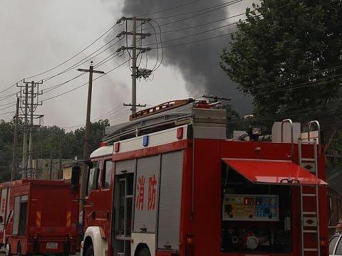 Смотреть онлайн: Очередной взрыв на химическом заводе в Китае