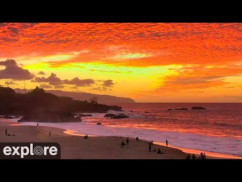 Live-Cam: USA - Hawaii - Waimea Bay (Bucht in Hawaii)