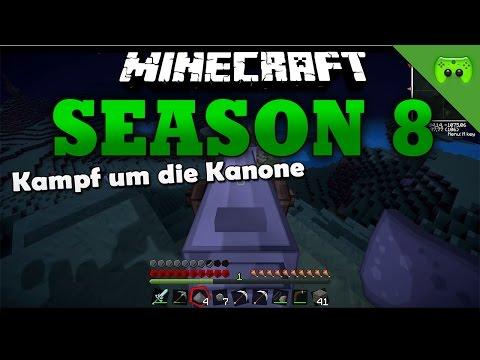 KAMPF UM DIE KANONE«» Minecraft Season 8 # 13 | HD