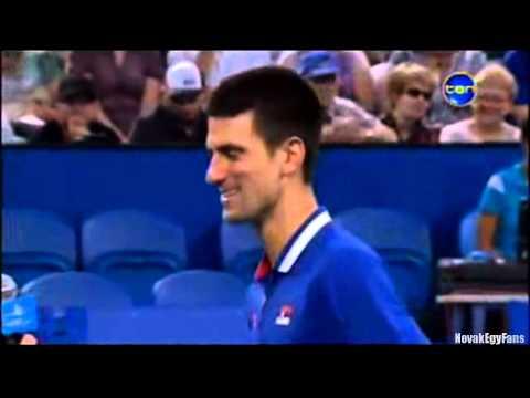 Những khoảnh khắc hài hước nhất của Novak Djokovic - phần 2
