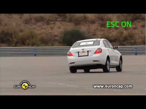[ESC Test] 2012 Geely Emgrand EC7