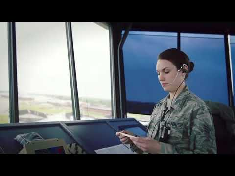Inside Air Traffic Control Tower-Watch Till The End *INTENSE*