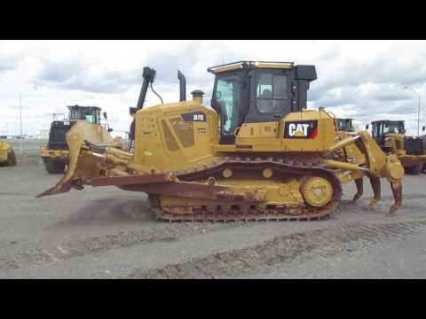 CATERPILLAR TRACK TYPE TRACTORS D7E equipment video JeZ7QVnKre4