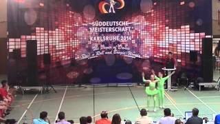 Elisabeth Horsch & Johannes Horsch - Süddeutsche Meisterschaft 2014