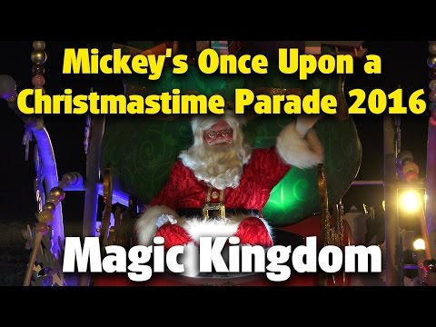 Mickey's Once Upon A Christmastime Parade | Mickey's Very Merry Christmas Party 2016
