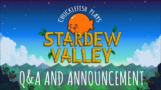 Join us again as we play through a near complete build of Stardew Valley, hold a short Q&A with the game's developer, @ConcernedApe, and make a big announcement!Timestamps: First Question (4:20)Gameplay: (5:00)Announcement: (23:30)Stardew Valley - Coming to PC February 26th!Official Website: http://www.stardewvalley.netSteam Page: http://store.steampowered.com/app/413...ConcernedApe on Twitter: http://www.twitter.com/concernedapeYou've inherited your grandfather's old farm plot in Stardew Valley. Armed with hand-me-down tools and a few coins, you set out to begin your new life. Can you learn to live off the land and turn these overgrown fields into a thriving home? It won't be easy. Ever since Joja Corporation came to town, the old ways of life have all but disappeared. The community center, once the town's most vibrant hub of activity, now lies in shambles. But the valley seems full of opportunity. With a little dedication, you might just be the one to restore Stardew Valley to greatness!