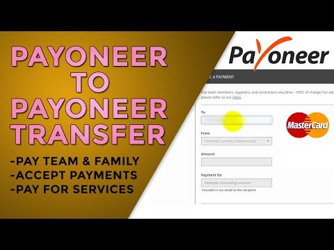 Payoneer to Payoneer Transfer Lets You Send Payments With 🆓 $0 Fees [Payoneer Tips]