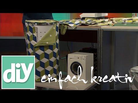 Ein Mantel für die Wäschetonne | DIY einfachkreativ