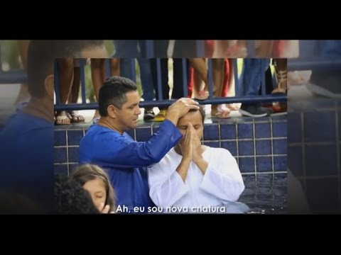 Batismo na Águas - Melhores Momentos - 13/03/2016