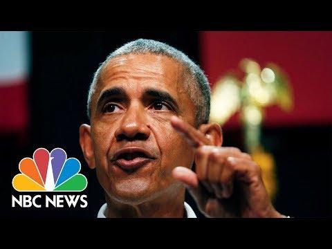 Former President Barack Obama Campaigns For Ohio Democrats | NBC News