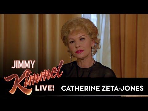 Catherine Zeta-Jones on Michael and Kirk Douglas