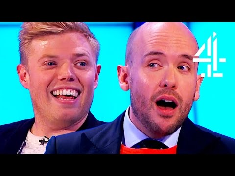 Rob Beckett And Tom Allen On Being At School Together | 8 Out Of 10 Cats