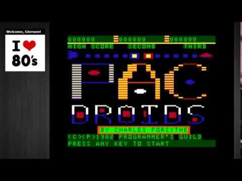 PacDroids (Dragon 32/64 -emu)