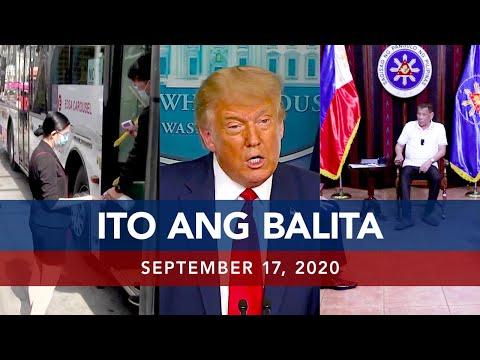 UNTV: Ito Ang Balita | September 17, 2020
