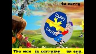 Easter and present continuous, Learn English