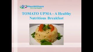 Tomato upma is a tasty version of upma. It is tangy and spicy made of sooji, tomatoes and spices. They are made for breakfast as they are prepared in short t...