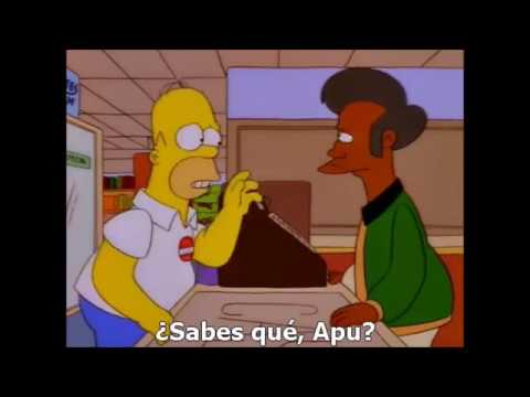 Yes on proposition 24 , The Simpsons ( spanish subtitles )