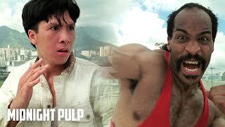 Video Young Donnie Yen vs. the Final Boss | Rare HD fight from 'In the Line of Duty 4' | Midnight Pulp MP3, 3GP, MP4, WEBM, AVI, FLV April 2019
