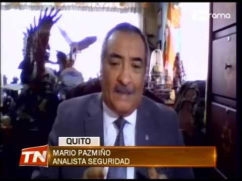 Quito pide autorización para adquirir armas disuasivas para control