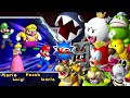 Mario Party 9 - Boss Rush Mode (All Boss Fights)