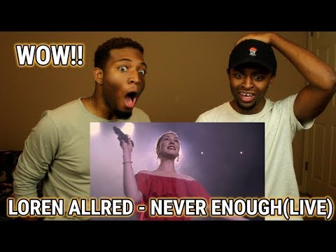 Loren Allred - Never Enough (Live Performance) (The Greatest Showman) (INCREDIBLE!)