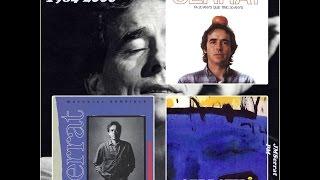 Joan Manuel Serrat Català 1984-2006. Aquestes son les cançons per ordre d'edició, no hi seguit l'ordre de les edicions dels discos. Estas son las canciones ...