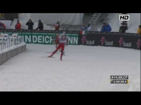 VM Holmenkollen 2011 - Petter Northug Destroys/Knuser Marcus Hellner with a VERY special finish! Please watch in HD(720) quality for best viewing experience Sports-HD Production of...
