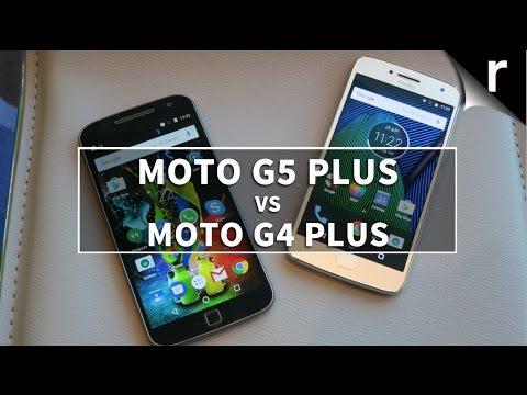 Moto G5 Plus vs Moto G4 Plus: 4 + 1 = win?