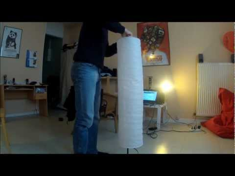 Montage lampe Ikea Holmo