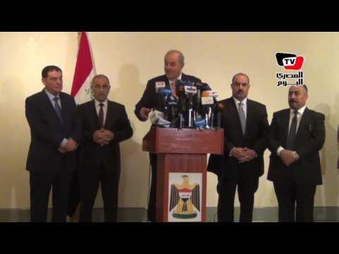 «علاوي»: ١٧ ألف طالب عراقي في مصر ونرحب بالمصريين دائما