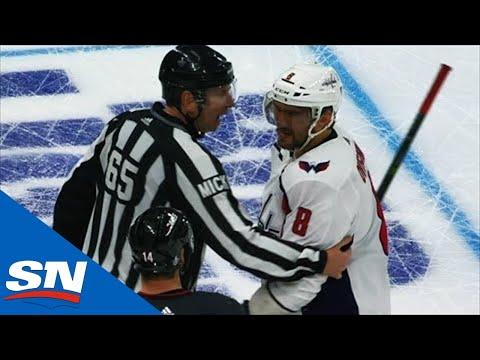 Warren Foegele's Dirty Hit On TJ Oshie Sets Off Alex Ovechkin