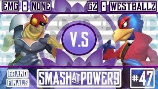 S@P9  47 – EMG | n0ne (Falcon) VS G2 | Westballz (Falco) Grand Finals
