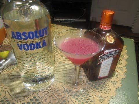 Como hacer Cosmopolitan Cocktail