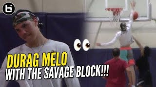 LaMelo Ball Enters DuRag Melo Mode at Your Local Pick-Up Game!! EXTRA WAVEY!!!