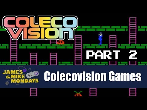 ColecoVision Part 2 - James & Mike Mondays