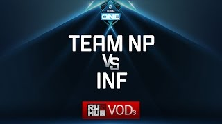 Team NP vs InF, ESL One Genting Quals, game 1 [Mila]