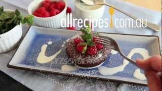 How to Make Molten Chocolate Cake