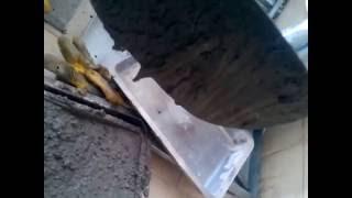 Yüksek akışkanlaştırıcı içeren beton örneği
