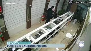 Presos mais dois integrantes de quadrilha que assaltou banco em Botucatu