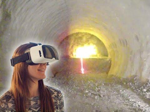 Sprengung im Tunnel Ober-/Untertürkheim in virtueller Realität