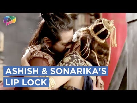 Ashish And Sonarika's Lip Lock|Prithvi Vallabh|