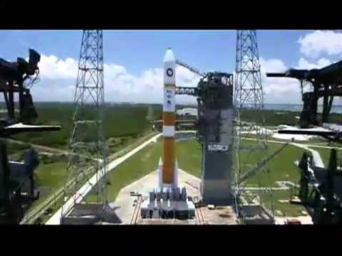 Part 1  ULA Delta IV Medium With WGS-5 Launch Webcast