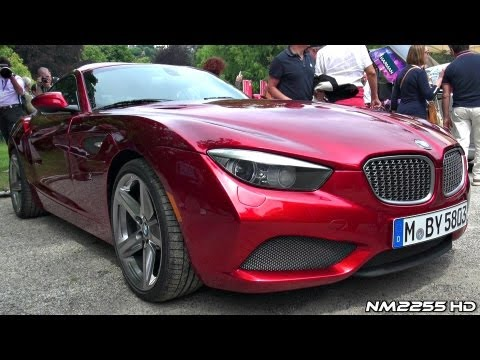 BMW Zagato Coup Amazing Sound - WORLD DEBUT
