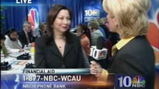 WCAU TV Feature On College Financial Aid