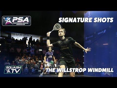 Squash: Signature Shots - The Windmill - James Willstrop