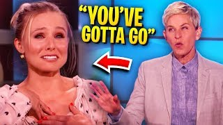Video Ellen Gets Furious & ALMOST Kicks Off Guest! MP3, 3GP, MP4, WEBM, AVI, FLV Agustus 2019