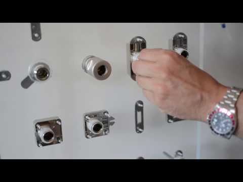 Sistemi di chiusura con nucleo-cilindro sostituibile Symo