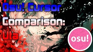 This osu! cursor comparison features 3 plays from Cookiezi, -GN and ThePooN on uta. I think this video really highlights how...