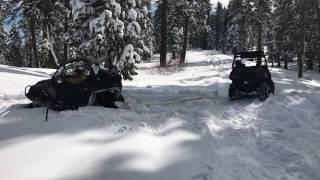 9. Wolverine R-Spec with RZR 900xp & 570. Big Boys Snow Day