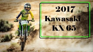 8. The New 2017 Kawasaki KX 65 : A Lightweight and  High-Performance